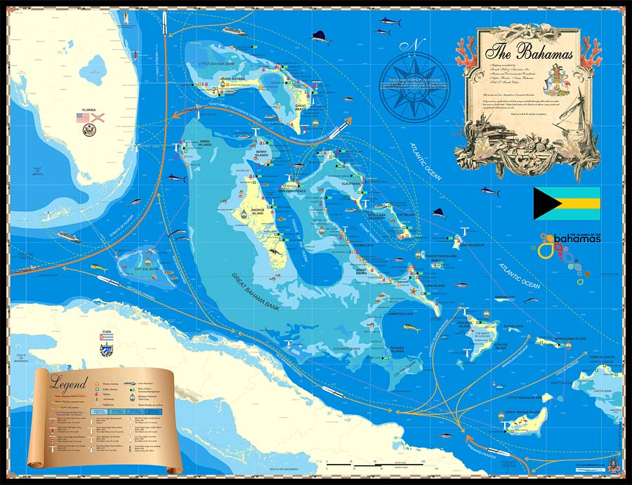 A History of the Bahamas Through Maps